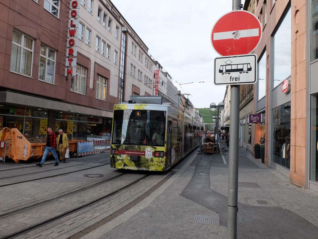 Kaiserstraße Verbotsschild