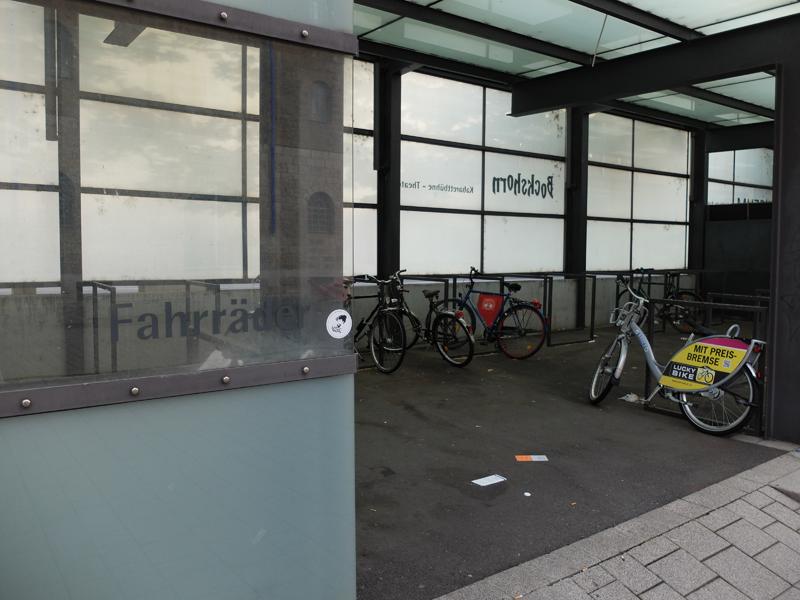 Fahrrad-Parkplatz am Kulturspeicher | Radfahrerzone.de