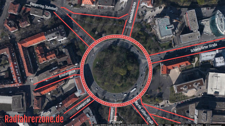 Eine radfahrerfreundliche Lösung für den Berliner Ring | Radfahrerzone.de