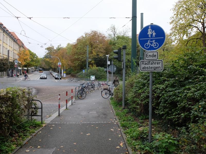 Radfahrer absteigen | Radfahrerzone.de
