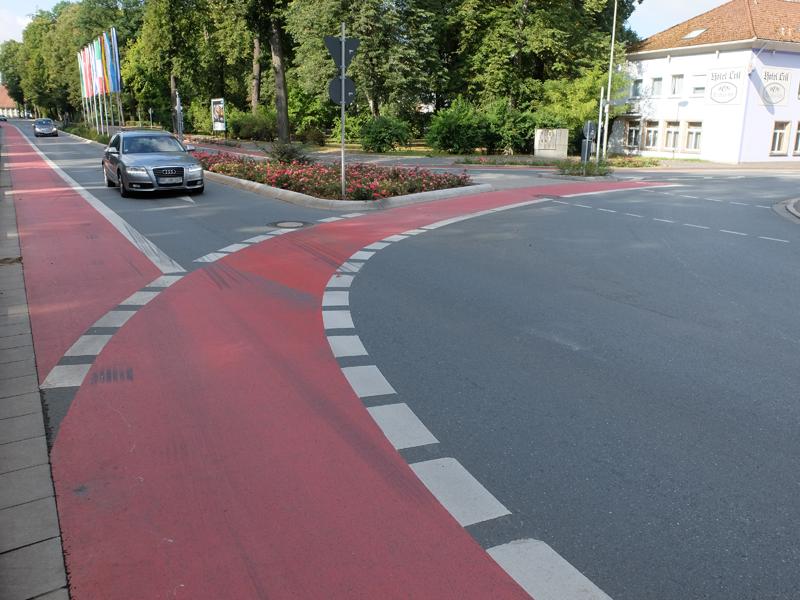 Radweg in Kulmbach | Radfahrerzone.de