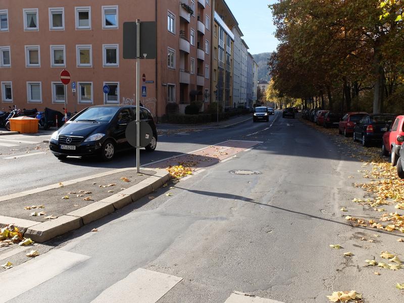 Abbiegesteifen | Radfahrerzone.de