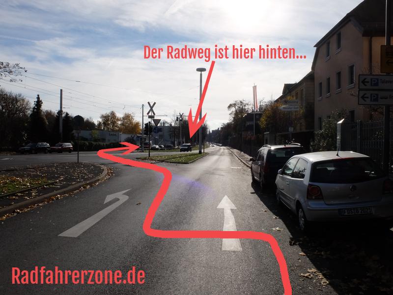 Der komplizierte Weg zum Radweg an der Mergentheimer Straße | Radfahrerzone.de
