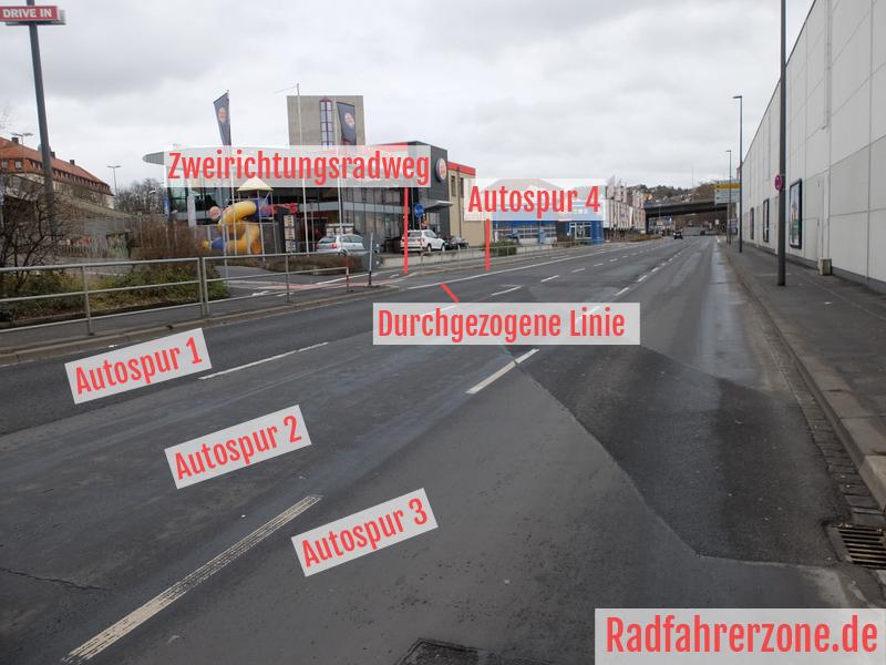 Europastern - Nürnberger Straße | Radfahrerzone.de