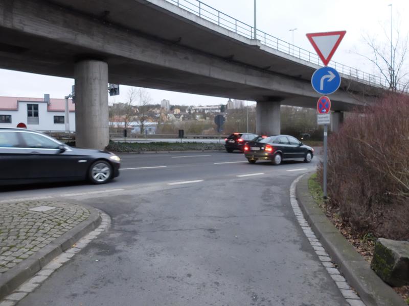 Fahrbahn-Radroute Europastern | Radfahrerzone.de